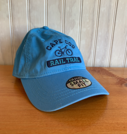 Ouray Cape Cod Rail Trail Baseball Cap -  Turquoise