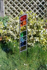 New Hope Stained Glass Stained Glass Rainbow Garden Panel