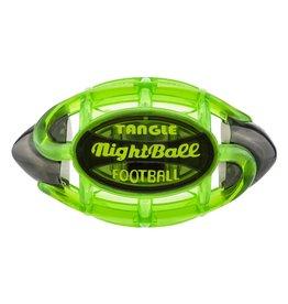 Tangle Nightball Football - Small Gr/Grey