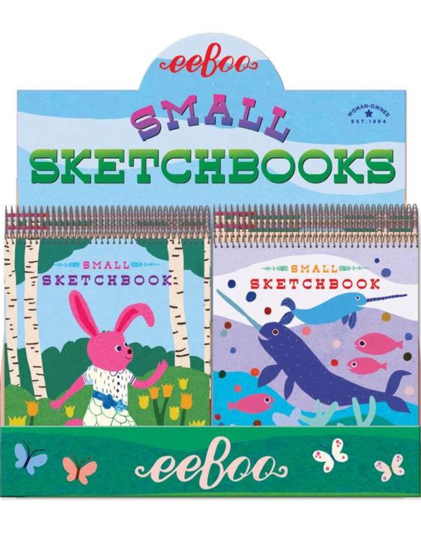 Eeboo Small Sketchbooks - Animal