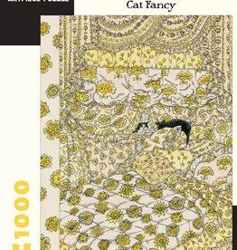 Pomegranite Puzzles - Gorey: Cat Fancy 1000-Piece
