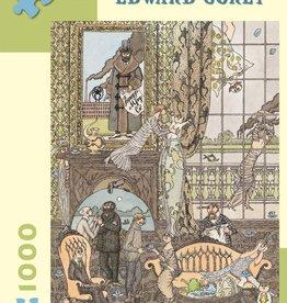 Pomegranite Puzzles  - Gorey: Frawgge Mfrg. Co. 1,000-Piece