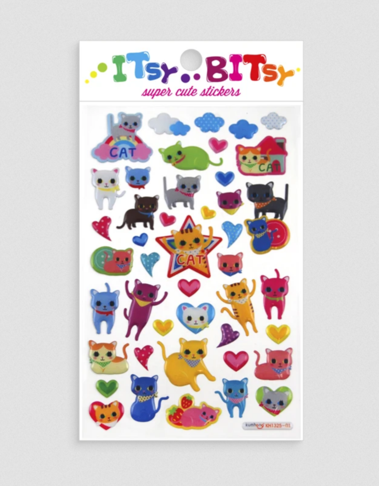 Ooly Isty Bitsy Stickers - Cat Eyes