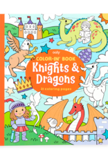 "Ooly Color-in' Book : Knights & Dragons (8"" x 10"")"
