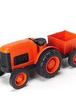Green Toys Tractor - Orange