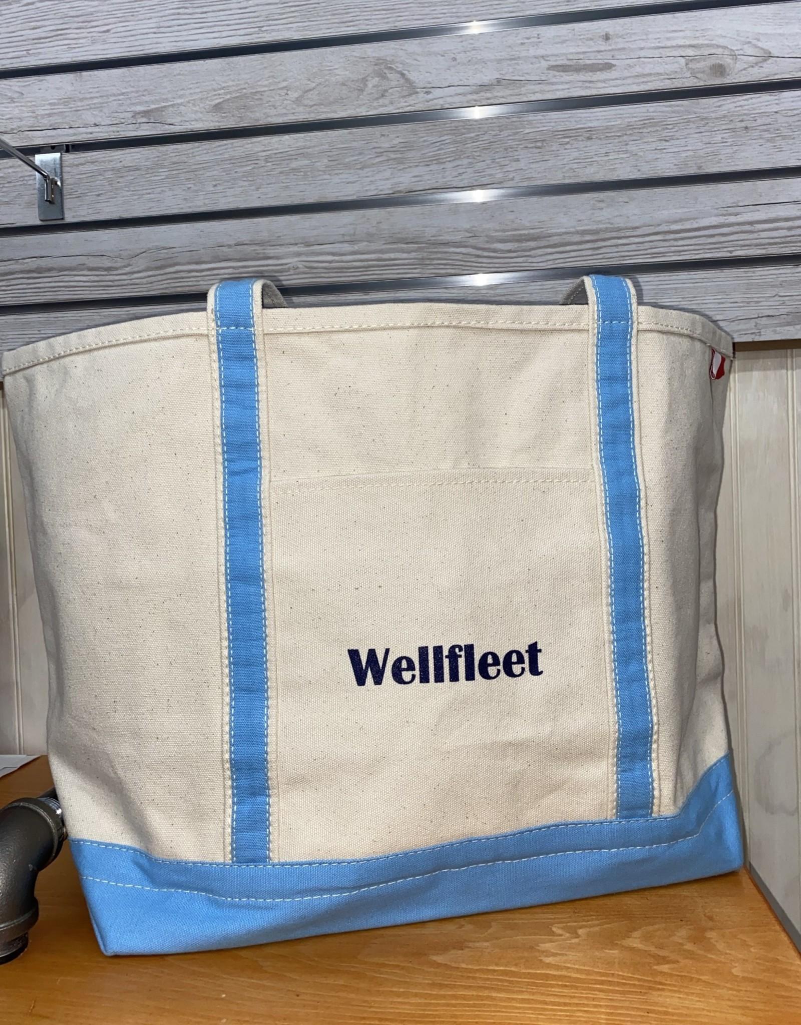 Shore Bags Wellfleet Light Blue Beach Bag - Large