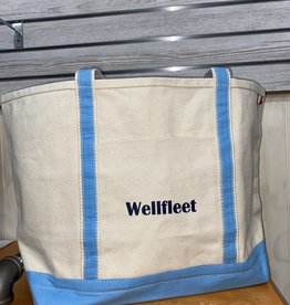 Shore Bags Wellfleet Light Blue Beach Bag - Large