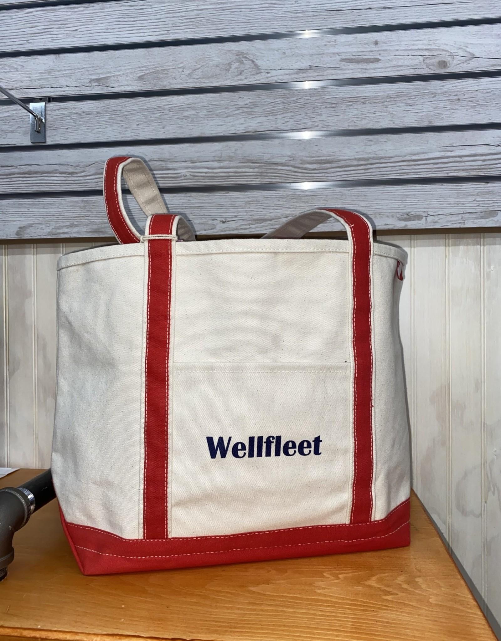 Shore Bags Wellfleet Red Beach Bag - Medium
