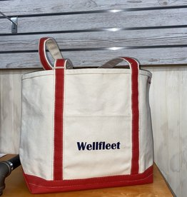 Shore Bags Wellfleet Red Beach Bag - Medium