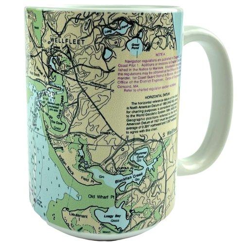 NOAA Chart Mug - Wellfleet