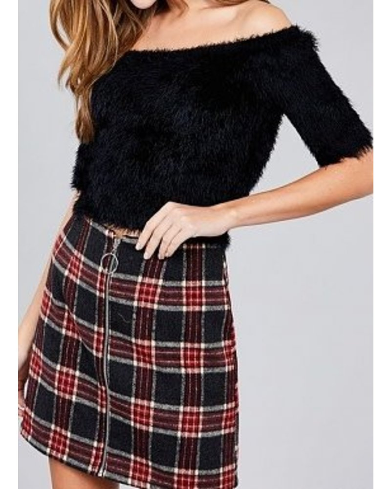 Above Love Fuzzy Sweater