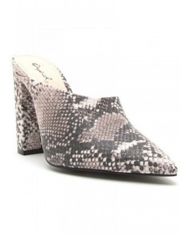 Python Open Back Bootie