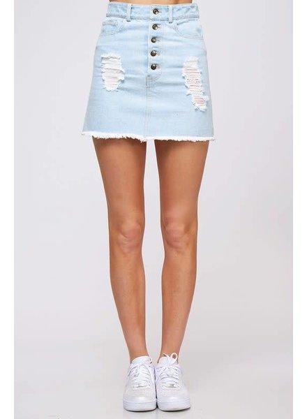 peach love Fearless Skirt