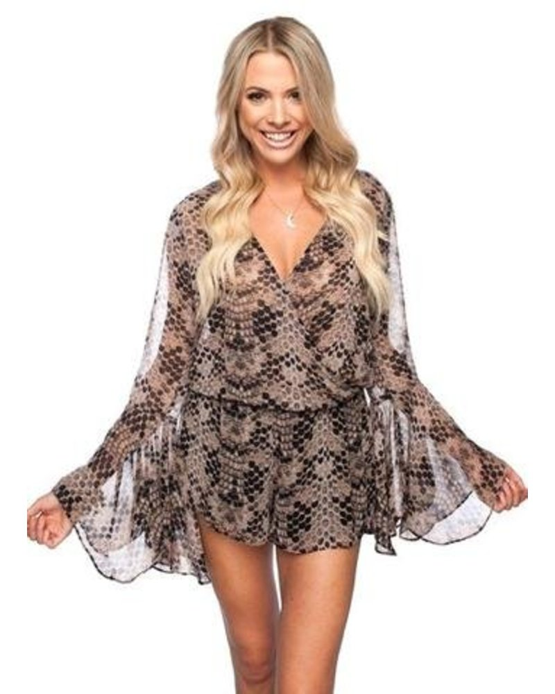 See You In The Jungle Romper