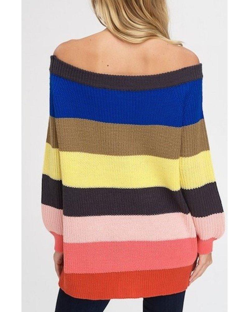 Follow The Rainbow Sweater