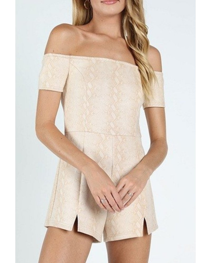 Come What May Romper