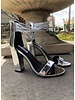 Carmella Silver Heels