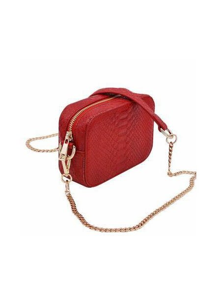 Boa Mini Bag - Red