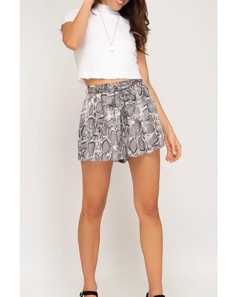 She & Sky Stop There Shorts