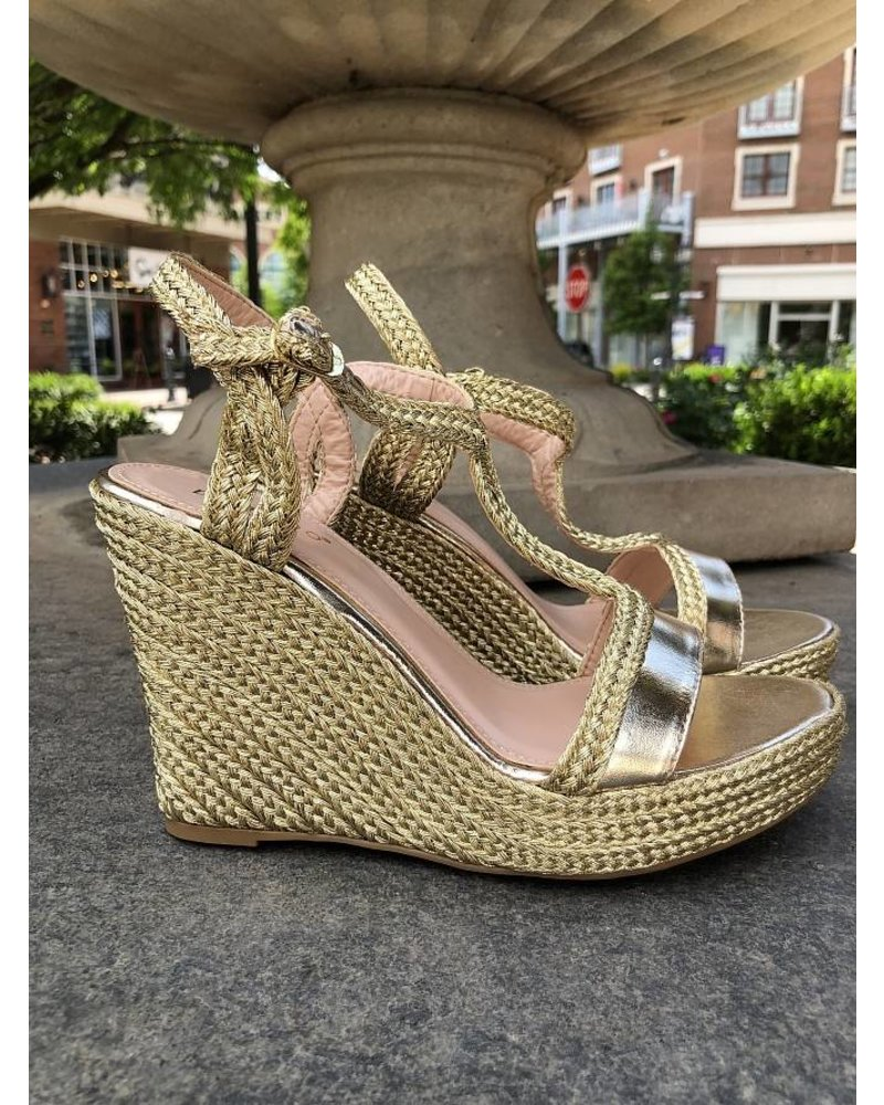 Metallic Braided Wedges