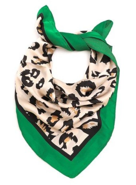 Green Animal Scarf