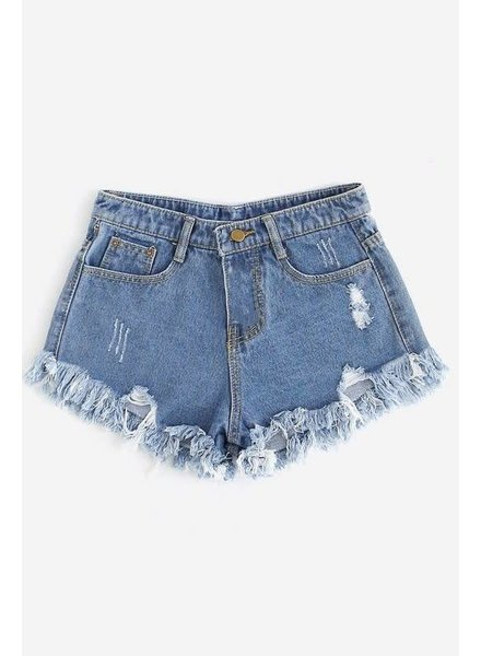 Easy Times Denim Shorts