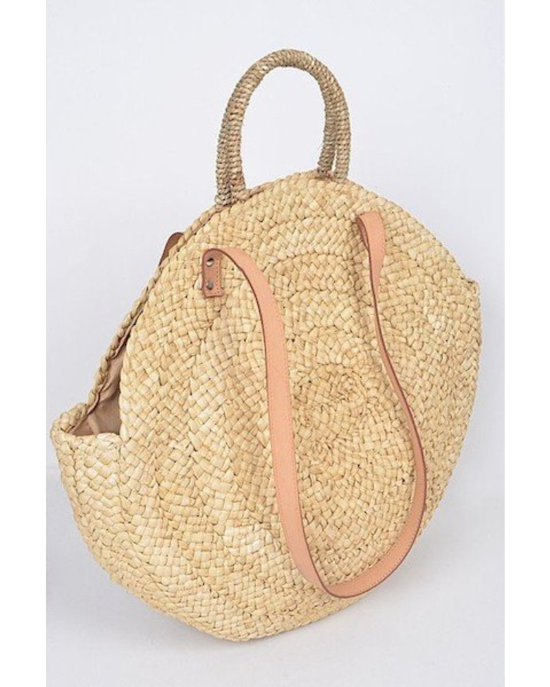 Summer Time Straw Bag