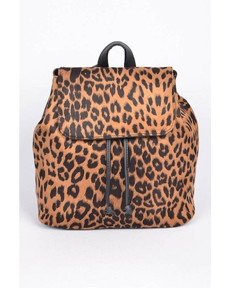 Animal Print Backpack