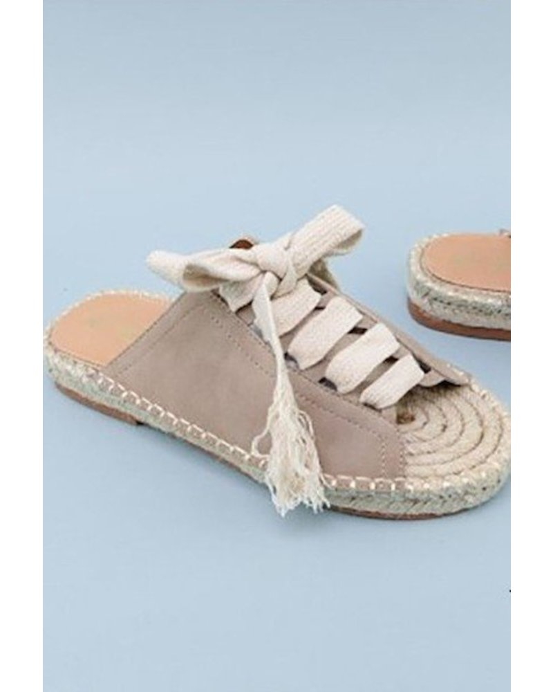 Lace Up Espadrille