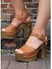 Qupid Chunky Heel Sandal