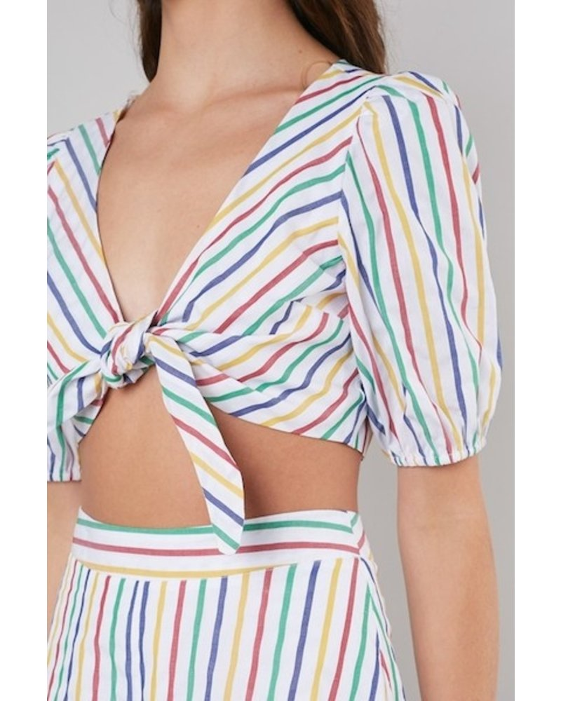 Over The Rainbow Crop Top