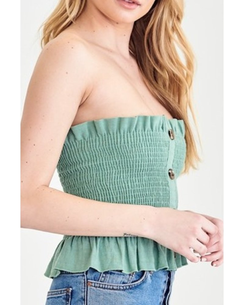 Little Things Strapless Top