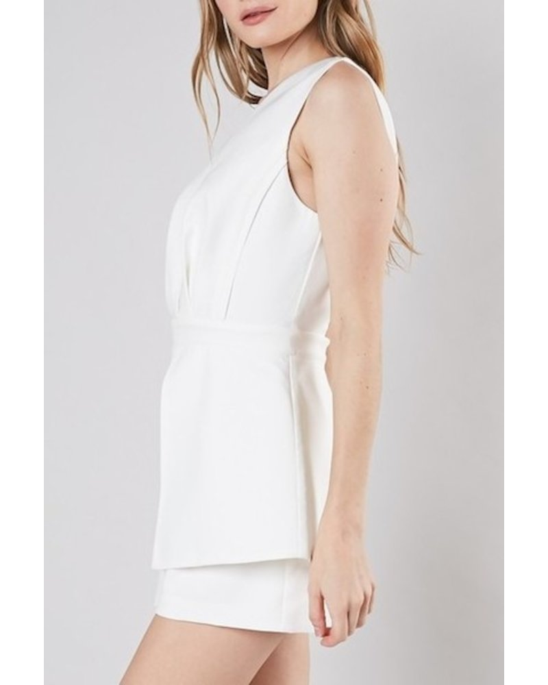 More Than Words Romper