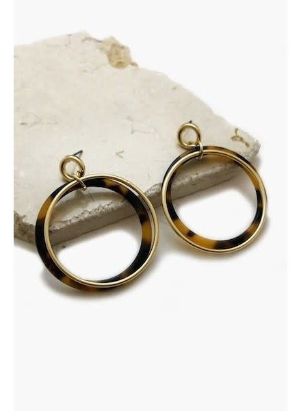 Doubled Ring Earrings
