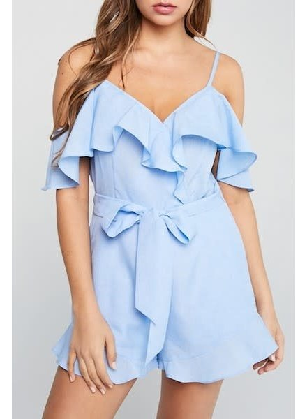 Here With Me Romper