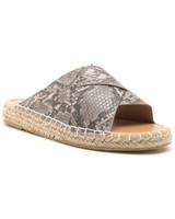 Python Espadrille Sandals