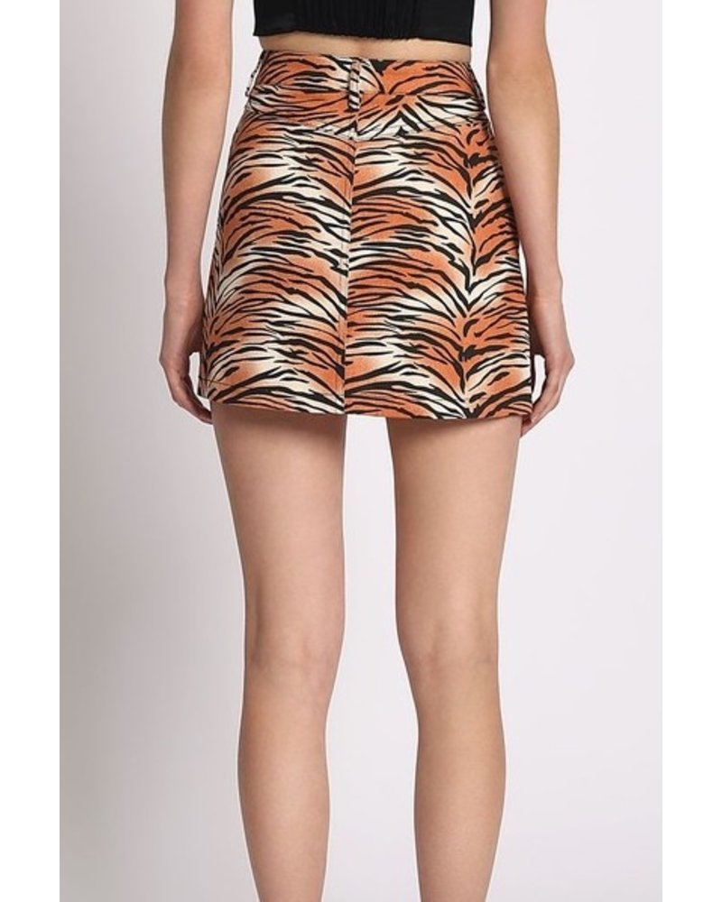 yipsy Wild Thing Mini Skirt