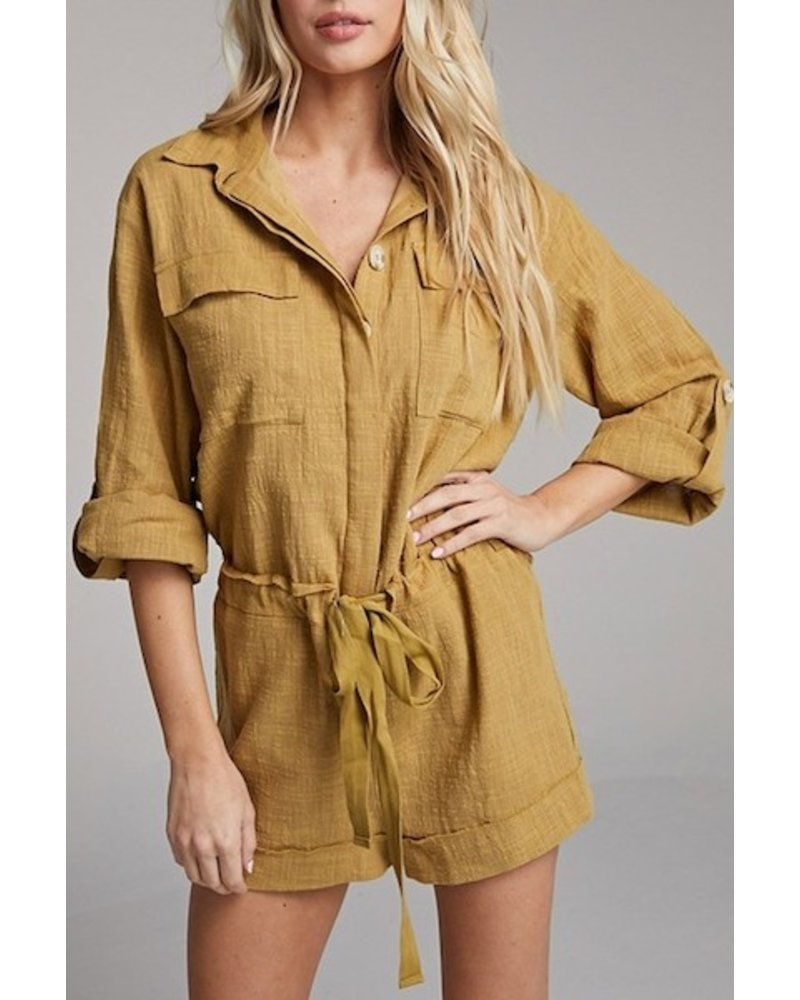 yipsy Just A Thought Romper