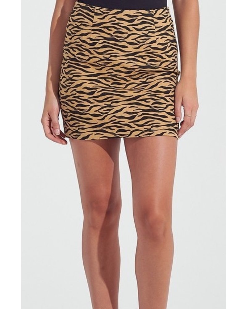 yipsy Call of The Wild Mini Skirt