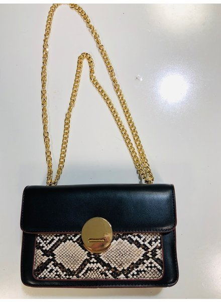 yipsy Small Snakeskin Handbag