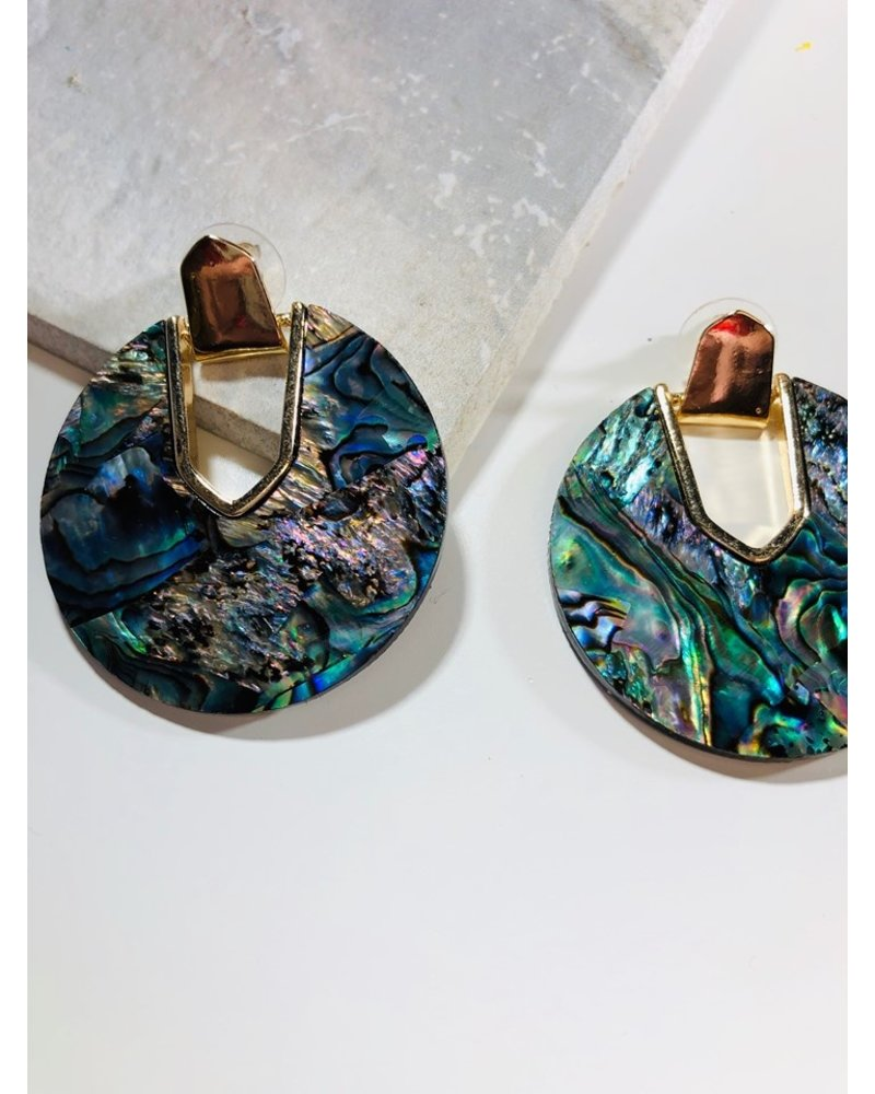 yipsy Abalone Earrings