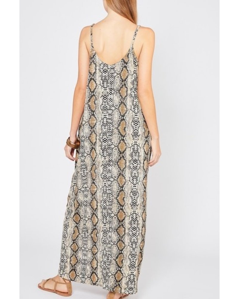 yipsy That's The Trouble Maxi Dress