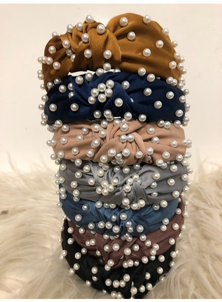 CocoPaige Pearl Knot Headband