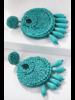 Bead Earrings - Turquoise