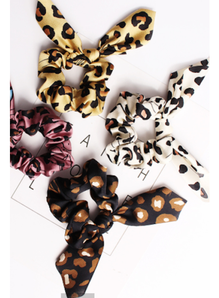 CocoPaige Wild Cat Scrunchie