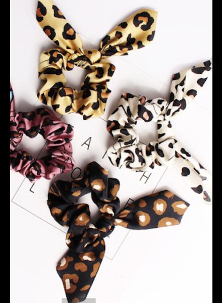 CocoPaige Wild Cat Scrunchie