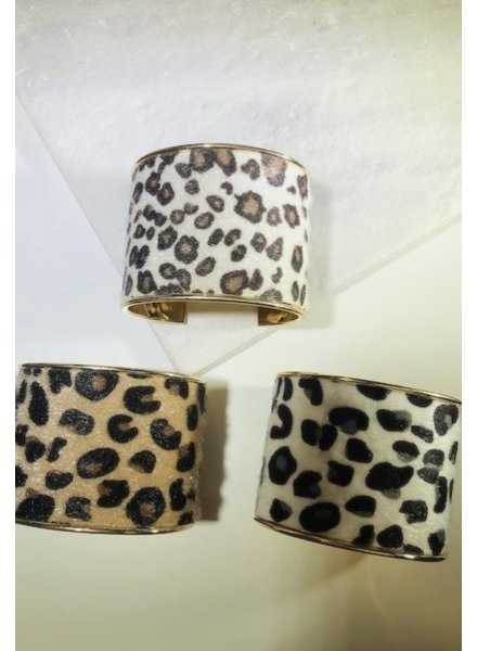 CocoPaige Leopard Bangle Bracelet