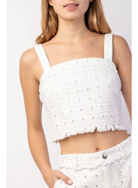 yipsy My Intentions Crop Top