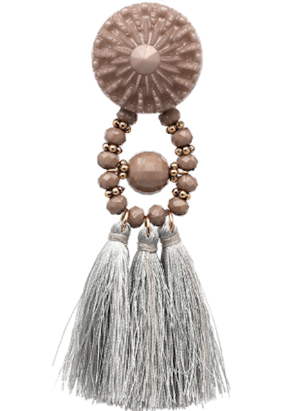 CocoPaige Statement Fringe Earrings