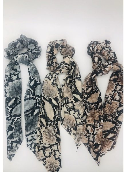 yipsy Snake Hair Scarf Scrunchie